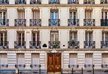 Street View Of The Elegant Fac...