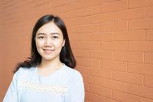 Portrait Of Beautiful Asian Wo...