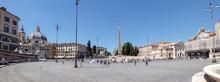 Rome, Italy: Panoramic Of Piaz...
