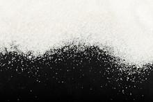 White Powdered Sugar Sprinkled...