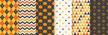 Halloween Seamless Pattern. Ha...