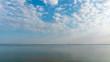 landscape over the sea