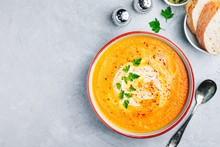 Carrot And Pumpkin Cream Soup ...