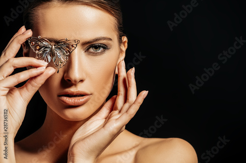 exquisite jewelry brooch Fotobehang