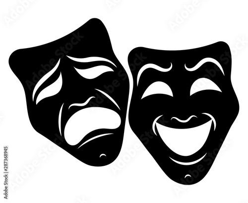 Fotografie, Obraz  Theatre Masks