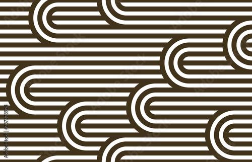Tapety Art Deco  wzor-z-skreconymi-liniami-wektor-liniowy-dachowka-tlo-prazkowane-tkanie-labirynt-optyczny-skrecone-paski