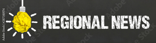 Regional News Canvas Print