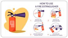 How To Use Fire Extinguisher. ...