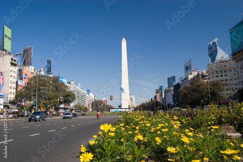 Buenos Aires, Argentina. May 18, 2009: Buenos Aires's Obelisk