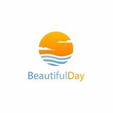 Beautiful Day Logo Design, Sun...