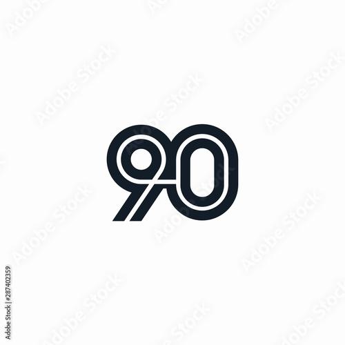 Valokuva 90 creative graphic design initial