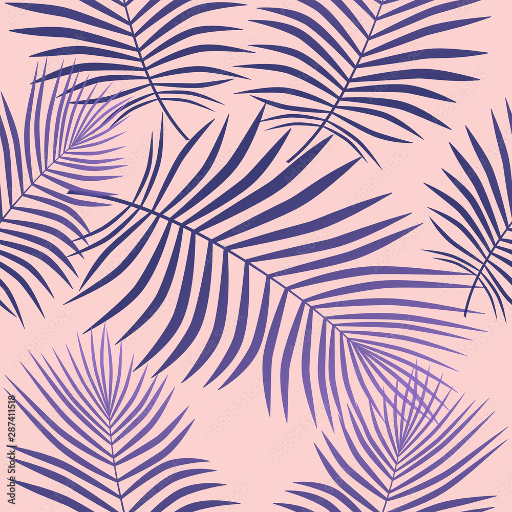 Fototapety, obrazy: Creative purple leaves background