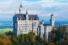 Neuschwanstein Castle In The M...