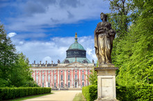 The New Palace In Sanssouci Pa...