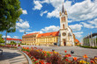 canvas print picture - Keszthely historical Old town, Hungary