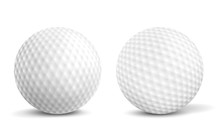 New, Clean Golf Balls With Aer...