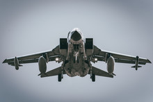 Jet Fighter Tornado Front View