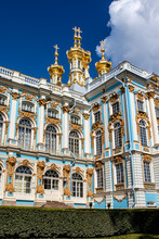 Facade Of Catherine Palace In ...