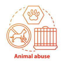 Animal Abuse And Harm Concept ...