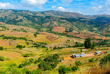 Scenic Drive In The Picturesque Swaziland Countryside.
