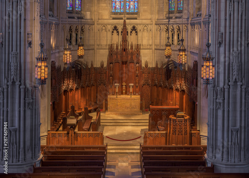 Heinz Memorial Chapel on the campus of the University of Pittsburgh in Pittsburg Canvas Print