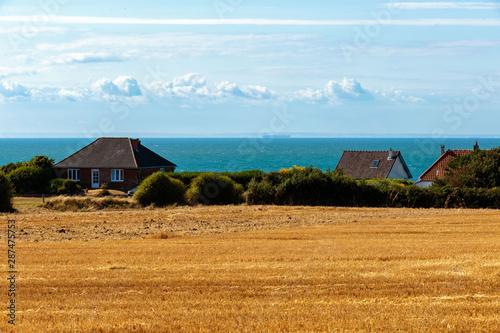 Fotografie, Obraz View of La Manche from Pas de Calais