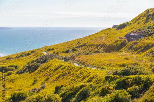Obraz na płótnie View of La Manche from Pas de Calais