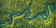Wild River Landscape From The ...