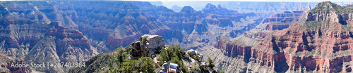 Obraz Grand Canyon National Park North Rim, USA. One of the Worlds 7 Natural Wonders - fototapety do salonu