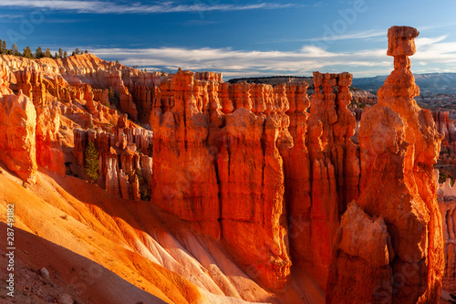 Slika na platnu Thor's Hammer formation in Bryce Canyon National Park, Utah