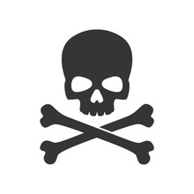 Skull And Crossbones Of Pirate...