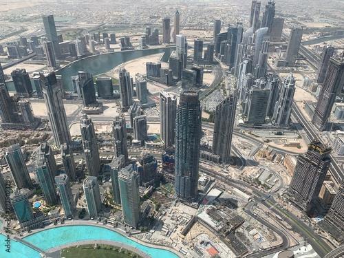Fototapety, obrazy: Panorama urbain à Dubaï, Émirats arabes unis