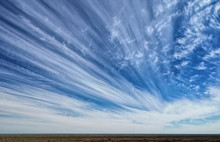 Streaky White Clouds