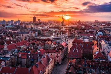 Poznań z lotu ptaka