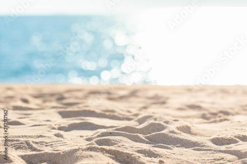 Fotografía  sea sand sky and summer day