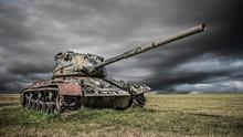 Alter Panzer Aus Dem Ersten Oder Zweiten Weltkrieg