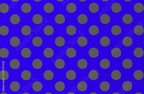 Valokuva  plaque métallique bleue