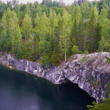 Karelia, Ruskeala, Marble Quar...