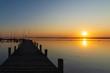 Dümmer See im Sonnenuntergang