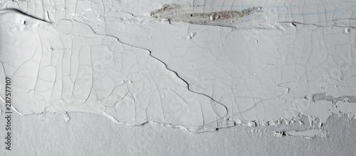 grey texture brush stroke on gray wall