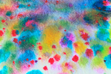 Blurred abstract colorful background. Wall texture grunge background with a lot of copy space. Colorful abstract painted background. Colorful Wall Texture.