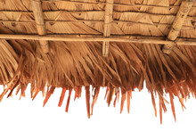 Dry Palm Leaves As A Traditional Roof