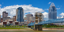 View Of The Cincinnati, Ohio S...