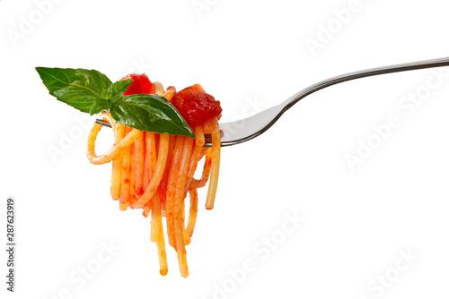 Fotografia Spaghetti sulla forchetta