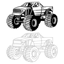 Monster Truck. Off-road Truck ...