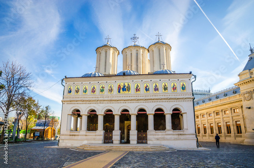 Orthodox Patriarchal Cathedral (Metropolitan Church) in Bucharest, Romania.