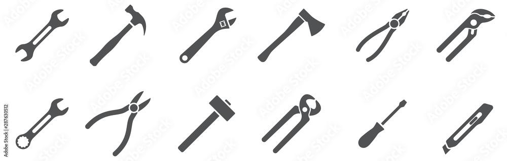 Fotografía  Tools icons set