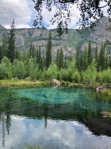 lake in forest #287649327