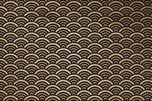 Retro Golden Background