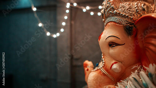 Photo  Face of Ganpati